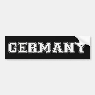 Pegatina Para Coche Alemania