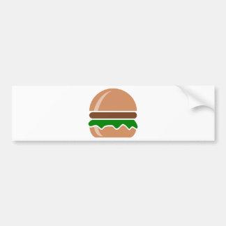 Pegatina Para Coche Alimentos de preparación rápida de la hamburguesa
