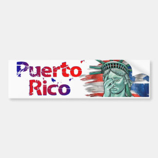 Pegatina Para Coche Alivio de Puerto Rico. ¡Vergüenza en usted