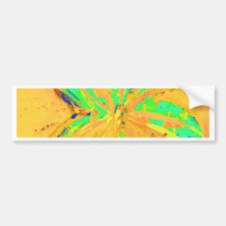 Pegatina Para Coche Amarillo ácido del lavado de Santa Fe