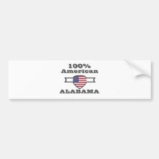 Pegatina Para Coche Americano del 100%, Alabama
