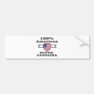 Pegatina Para Coche Americano del 100%, Carolina del Sur