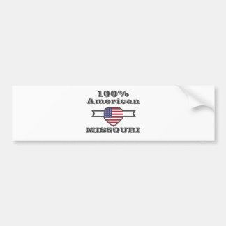 Pegatina Para Coche Americano del 100%, Missouri