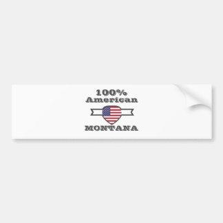Pegatina Para Coche Americano del 100%, Montana