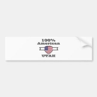 Pegatina Para Coche Americano del 100%, Utah