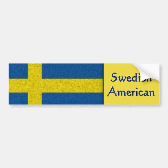 Pegatina Para Coche Americano sueco