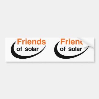 Pegatina Para Coche Amigos de solar