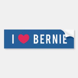 Pegatina Para Coche Amo a Bernie