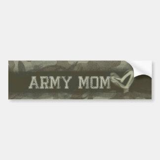 Pegatina Para Coche Amor de la mamá del ejército del Grunge del