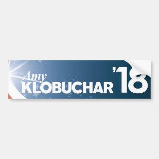 Pegatina Para Coche Amy Klobuchar para el senado