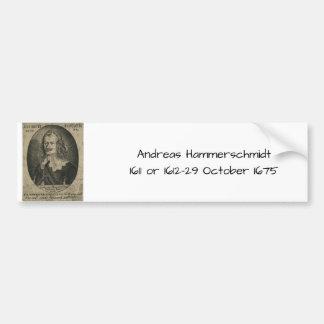Pegatina Para Coche Andreas Hammerschmidt