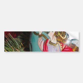 Pegatina Para Coche Ángel del navidad - arte del navidad -