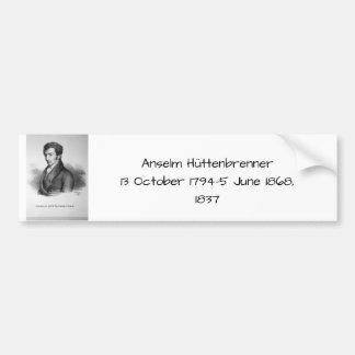 Pegatina Para Coche Anselm Huttenbrenner 1837
