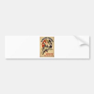 Pegatina Para Coche Anuncio del francés del vintage