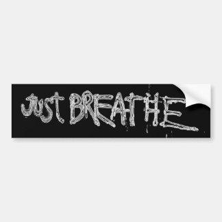 Pegatina Para Coche Apenas respire