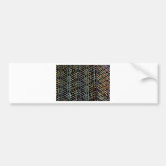 Pegatina Para Coche Arquitectura abstracta