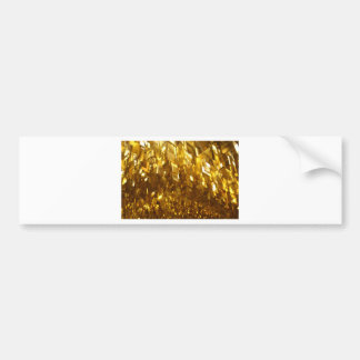 Pegatina Para Coche Arte abstracto del techo del oro
