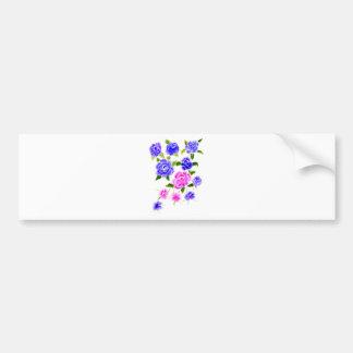 Pegatina Para Coche Arte colorido de las flores