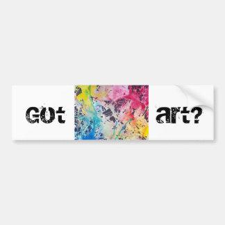 Pegatina Para Coche ¿Arte conseguido?