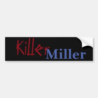 Pegatina Para Coche Asesino Miller