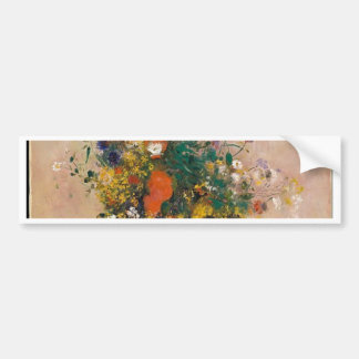 Pegatina Para Coche Assortion de flores en florero