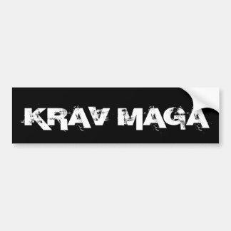 Pegatina Para Coche Autodefensa de los artes marciales de Krav Maga