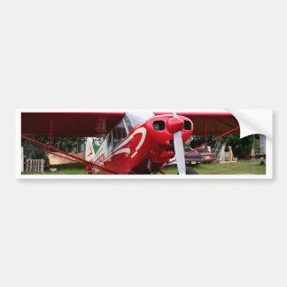 Pegatina Para Coche Aviones rojos y blancos, Alaska