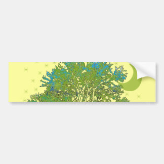 Pegatina Para Coche Azules del árbol