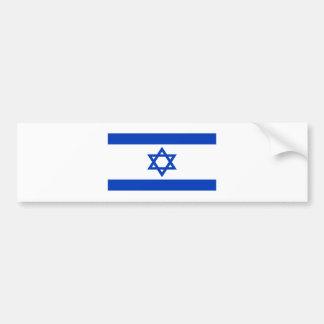 Pegatina Para Coche ¡Bajo costo! Bandera de Israel