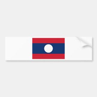 Pegatina Para Coche ¡Bajo costo! Bandera de Laos
