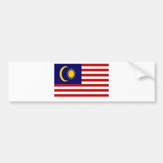 Pegatina Para Coche ¡Bajo costo! Bandera de Malasia