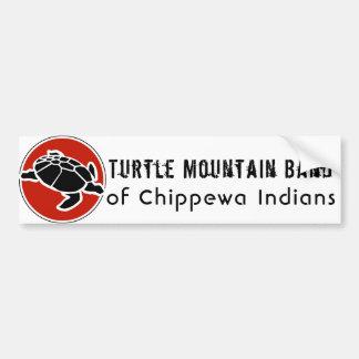 Pegatina Para Coche Banda de la montaña de la tortuga de los indios de