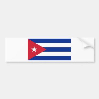 Pegatina Para Coche Bandera cubana - Bandera Cubana - bandera de Cuba