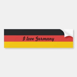 Pegatina Para Coche Bandera de Alemania o de Deutschland