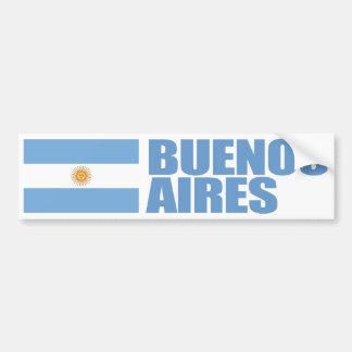 Pegatina Para Coche Bandera de Buenos Aires, la Argentina