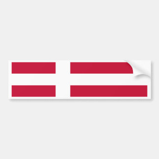 Pegatina Para Coche Bandera de Dinamarca