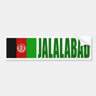 Pegatina Para Coche Bandera de Jalalabad, Afganistán