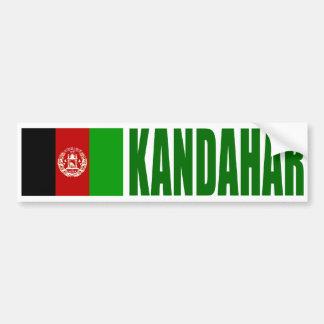 Pegatina Para Coche Bandera de Kandahar, Afganistán