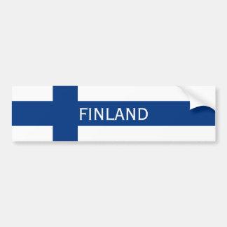Pegatina Para Coche Bandera de la bandera cruzada azul de Finlandia
