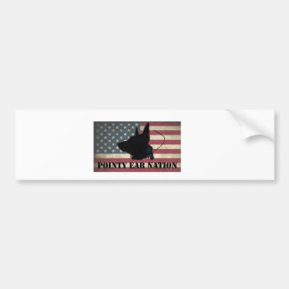 Pegatina Para Coche Bandera de la PLUMA