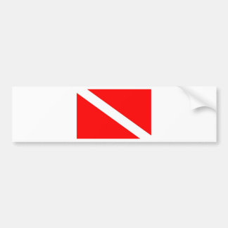Pegatina Para Coche Bandera de la zambullida
