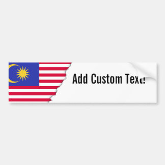 Pegatina Para Coche Bandera de Malasia