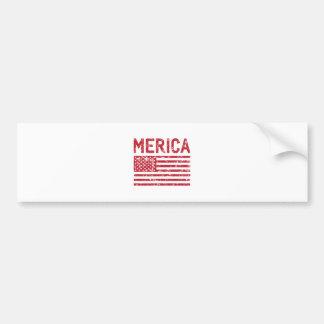 Pegatina Para Coche Bandera de Merica