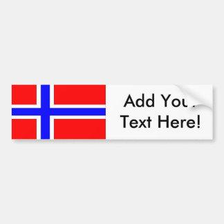 Pegatina Para Coche Bandera de Noruega