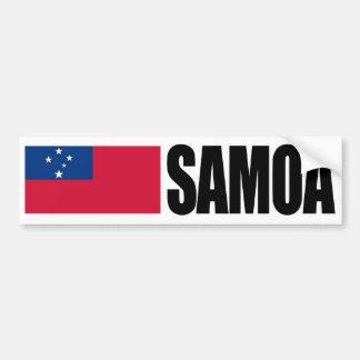 Pegatina Para Coche Bandera de Samoa