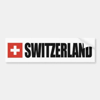 Pegatina Para Coche Bandera de Suiza