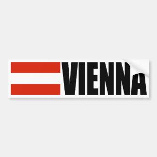 Pegatina Para Coche Bandera de Viena Austria
