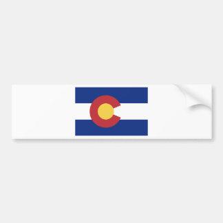 Pegatina Para Coche Bandera del estado de Colorado