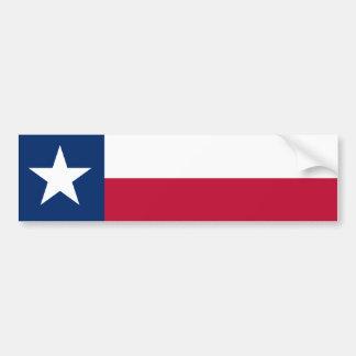 Pegatina Para Coche Bandera del estado de Tejas