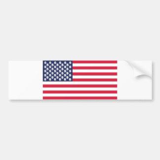 Pegatina Para Coche bandera Estados Unidos u del símbolo del dólar del